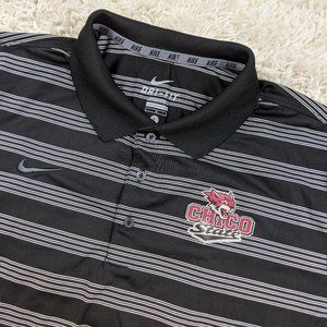 Nike Chico State Wildcats Polo Shirt Men Large A31